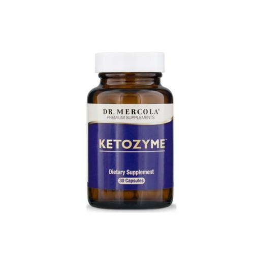 Dr Mercola Ketozyme - 30 capsules