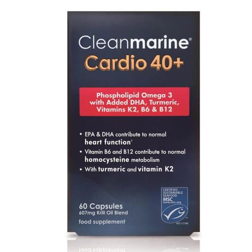 Cleanmarine Cardio 40+ - 60 capsules