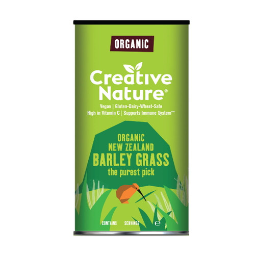 Creative Nature Organic Barley Grass Powder - 100g