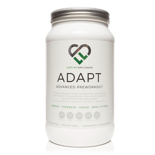 Love Life Supplements Adapt Advanced Pre-workout - 900g