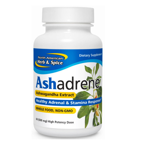 North American Herb & Spice Ashadrene - 60 capsules