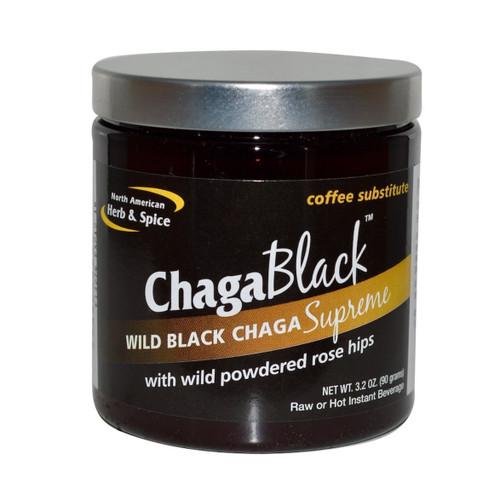 North American Herb & Spice Chaga Black (Coffee Substitute)  - 90g