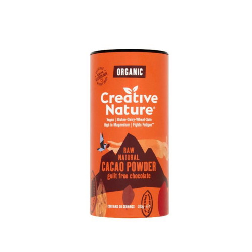 Creative Nature Organic Cacao Powder - 200g