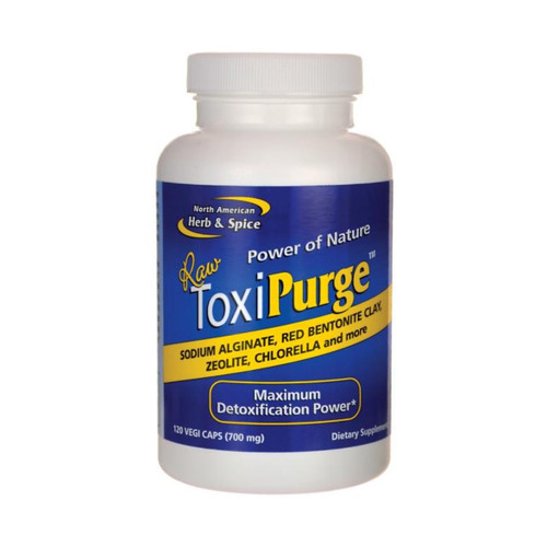 North American Herb & Spice ToxiPurge - 120 capsules