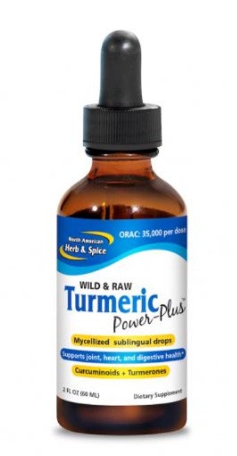 North American Herb & Spice Turmeric Power Plus - 60ml