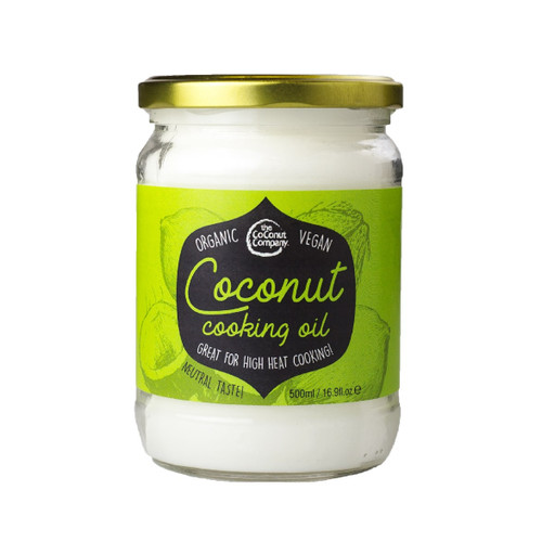 The Coconut Company Organic Coconut Cooking Oil - 500ml