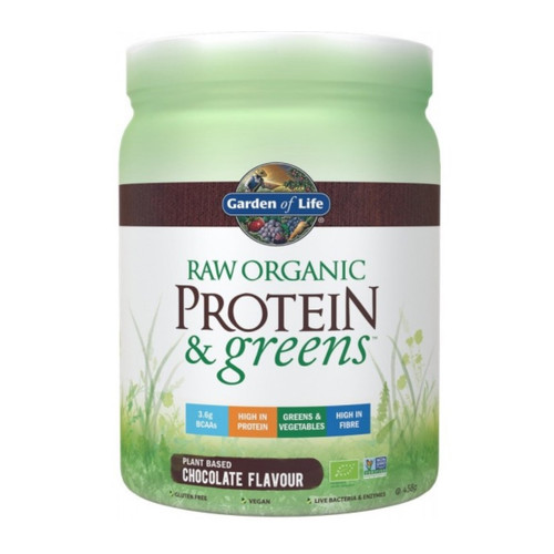 Garden of Life Organic Proteins & Greens Chocolate - 458g