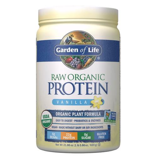 Garden of Life Organic Protein Vanilla - 620g
