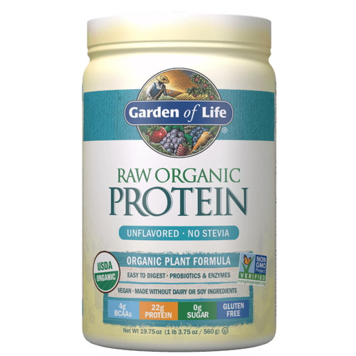Garden of Life Organic Protein Unflavoured - 560g