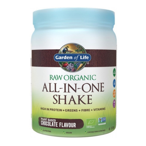 Garden of Life Organic All in One Shake Chocolate - 509g