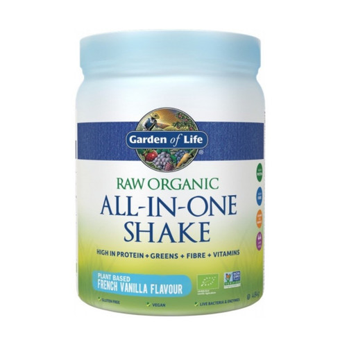 Garden of Life Organic All in One Shake Vanilla - 484g