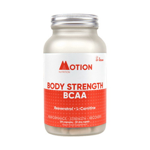 Motion Nutrition Body Fuel BCAA's - 120 capsules