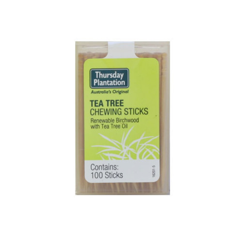 Thursday Plantation Tea Tree Chewing Sticks Original - 100 sticks