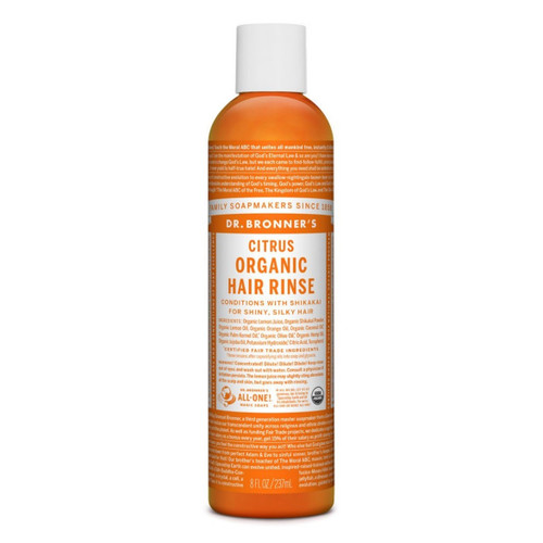 Dr Bronner's Citrus Conditioning Hair Rinse - 237ml