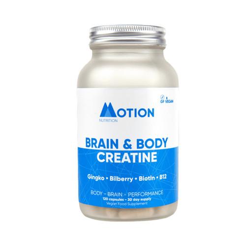 Motion Nutrition Brain & Body Creatine - 120 capsules