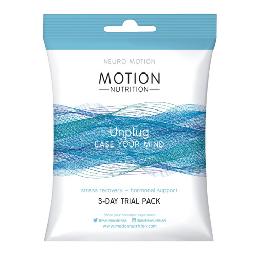 Motion Nutrition Unplug (Trial Pack) - 6 capsules