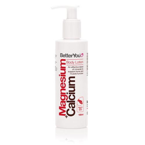 BetterYou Magnesium + Calcium Body Lotion - 180ml