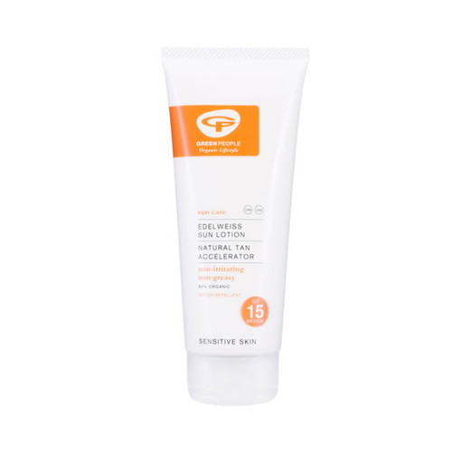 Green People Sun Lotion Medium Level SPF15 - 100ml