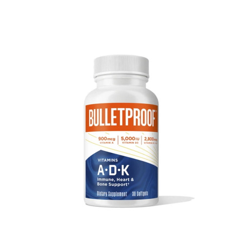 Bulletproof Vitamins A-D-K - 30 capsules