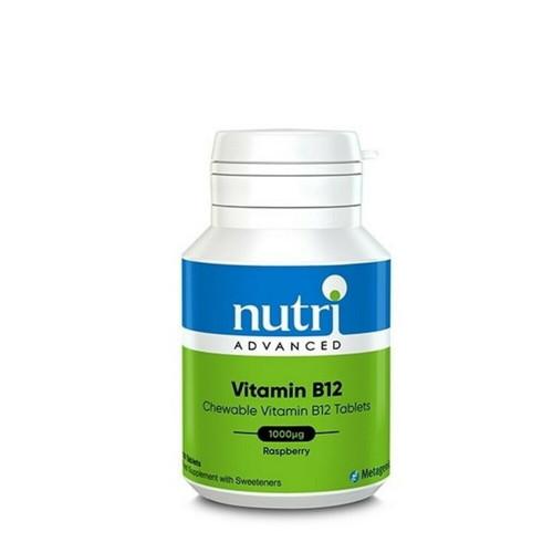 Nutri Advanced Chewable Vitamin B12 - 120 tablets