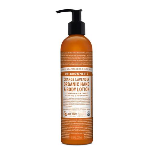 Dr Bronner's Orange Lavender Hand & Body Lotion - 237ml