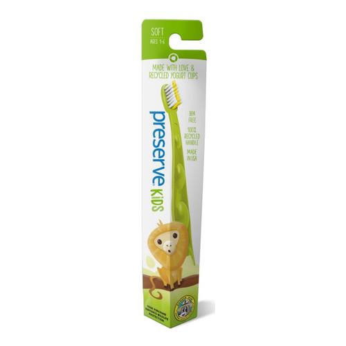 Preserve Junior Toothbrush Soft - Green