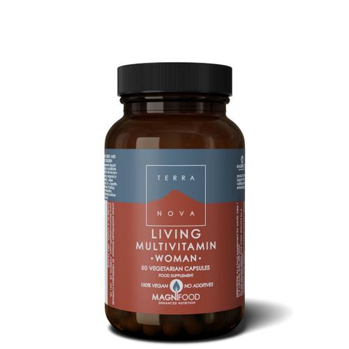 Terranova Living Multivitamin Women - 50 capsules