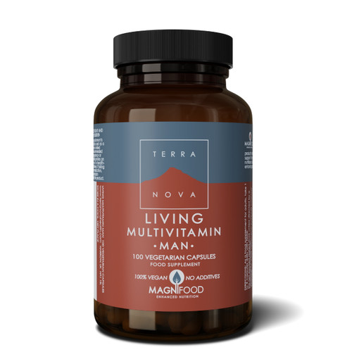 Terranova Living Multivitamin Man - 100 capsules