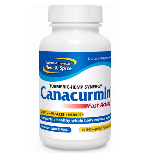 North American Herb & Spice Canacurmin - 60 capsules