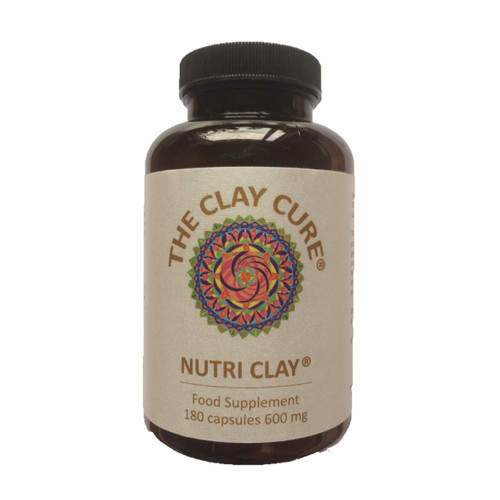 The Clay Cure Company Nutri Clay 600mg - 180 capsules