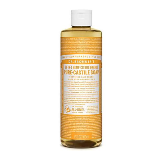 Dr Bronner's Organic Citrus Liquid Soap - 473ml