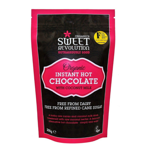Sweet Revolution Organic Instant Hot Chocolate with Raw Cacao - 200g