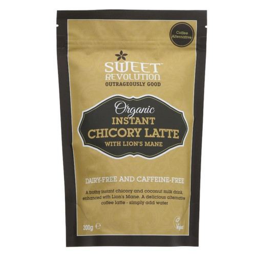 Sweet Revolution Organic Instant Chicory Latte with Lion's Mane - 200g
