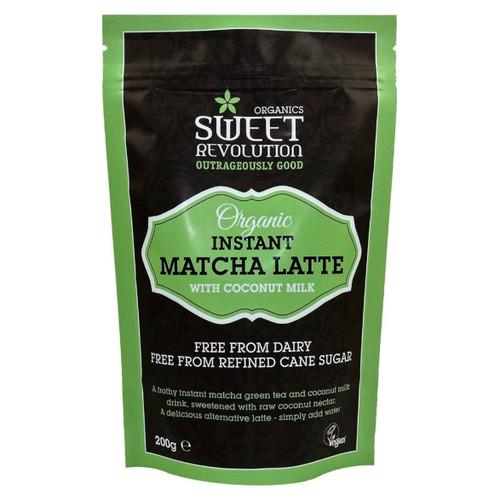 Sweet Revolution Organic Instant Matcha Latte with Vanilla - 200g