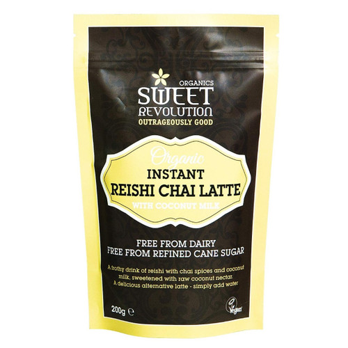 Sweet Revolution Organic Instant Reishi Chai Latte with Coconut Milk - 200g