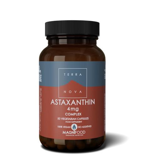 Terranova Astaxanthin 4mg Complex - 50 capsules