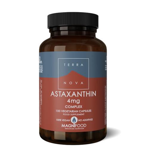Terranova Astaxanthin 4mg Complex - 100 capsules