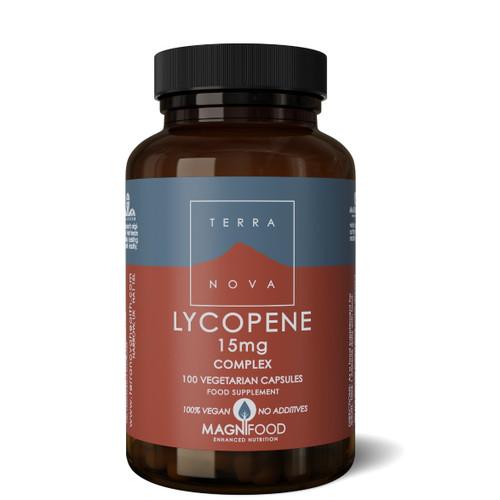 Terranova Lycopene 15mg Complex - 100 capsules