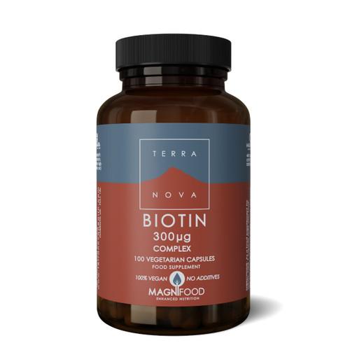Terranova Biotin 300ug Complex - 100 capsules