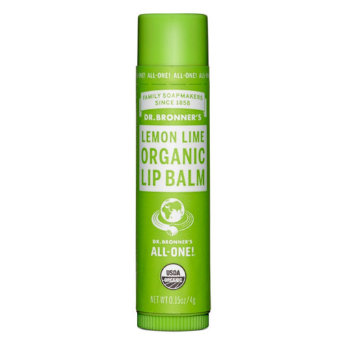 Dr Bronner's Organic Lemon Lime Lip Balm - 4g