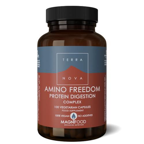Terranova Amino Freedom - Protein Digestion Complex - 100 capsules