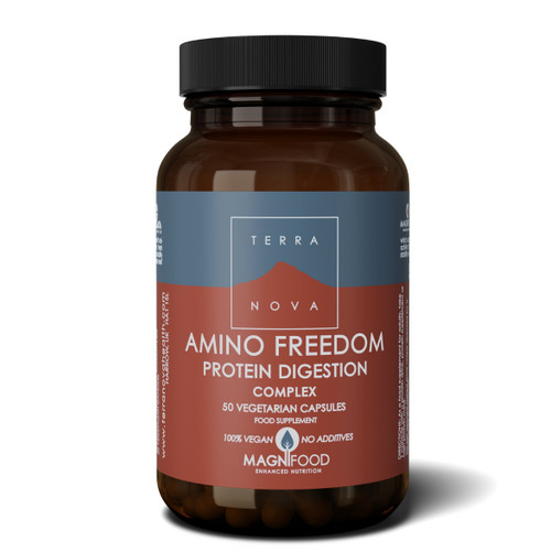 Terranova Amino Freedom - Protein Digestion Complex - 50 capsules