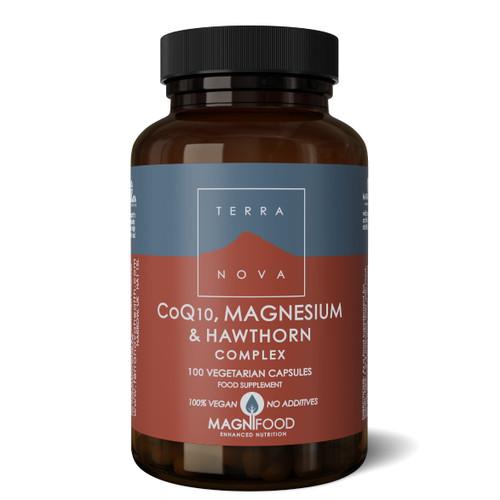 Terranova CoQ10, Magnesium & Hawthorne Complex - 100 capsules