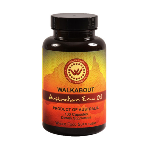 Walkabout Emu Oil - 100 capsules
