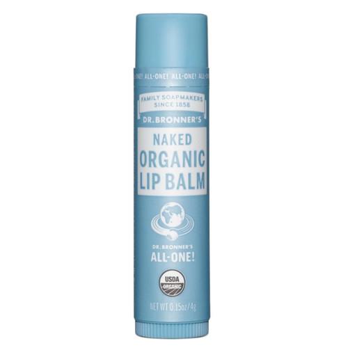 Dr Bronner's Organic Naked Lip Balm - 4g