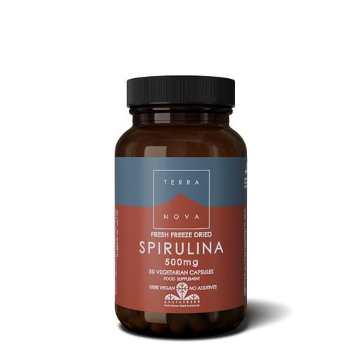 Terranova Spirulina 500mg - 50 capsules