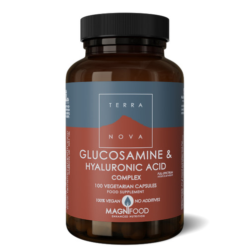Terranova Glucosamine & Hyaluronic Acid Complex - 100 capsules