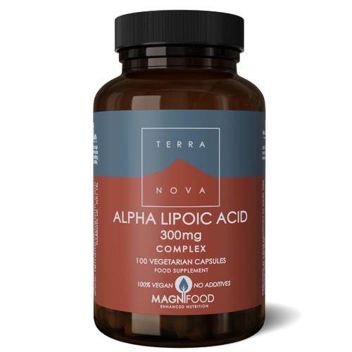 Terranova Alpha Lipoic Acid 300mg Complex - 100 capsules