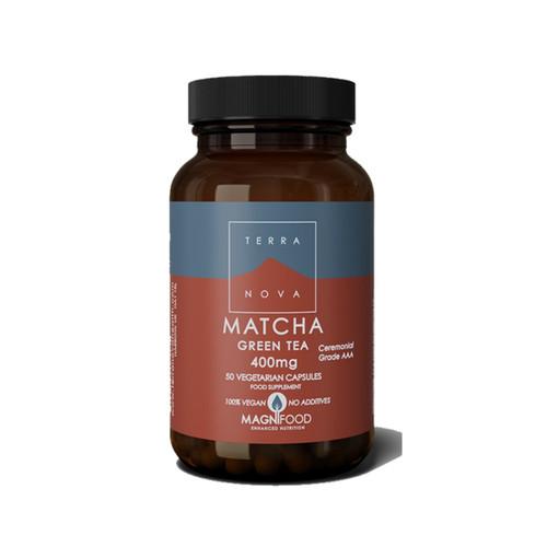 Terranova Matcha Green Tea 400mg - 50 capsules