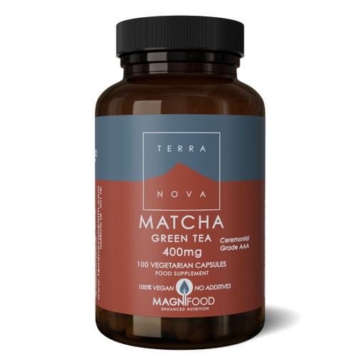 Terranova Matcha Green Tea 400mg - 100 capsules